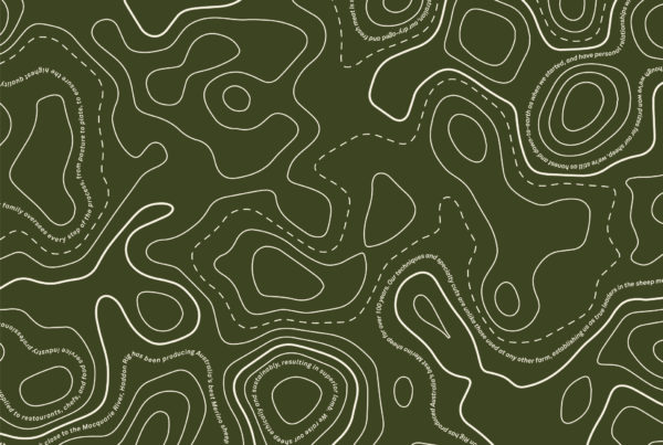 Haddon Rig green pattern graphic